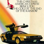 1981 Gold DeLorean Ad
