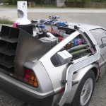 DeLorean Time Machine with Mr Fusion