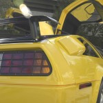 DeLorean DMC-12 in yellow