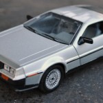 Welly DeLorean Model
