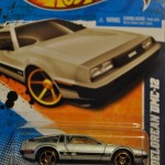 DeLorean DMC-12 Matchbox Car with decals