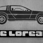 DeLorean Art
