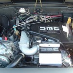 Delorean Engine Bay