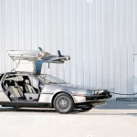Electric DeLorean DMC-12 Charging