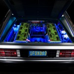 Electric DeLorean Battery Compartment