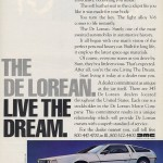 1982 DeLorean Ad