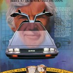 DeLorean Cutty Sark Scotch Ad