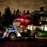 Night DeLorean