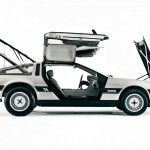 DeLorean open