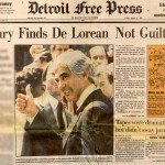 John DeLorean Newspaper Story