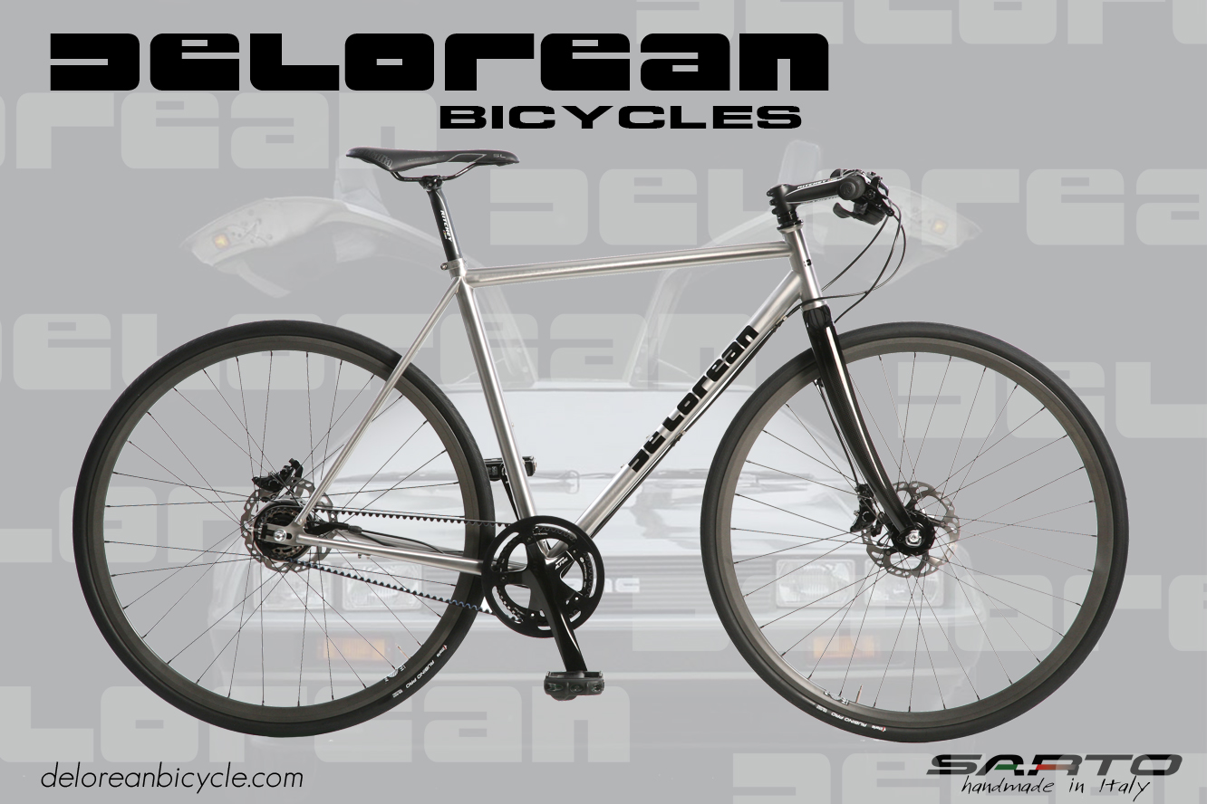 DeLorean Bicycle | First Rate DeLorean Information
