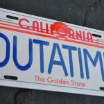 DeLorean Time Machine License Plate