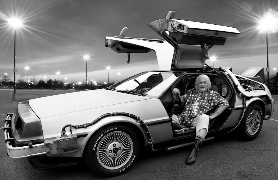 Doc Brown in the DMC-12